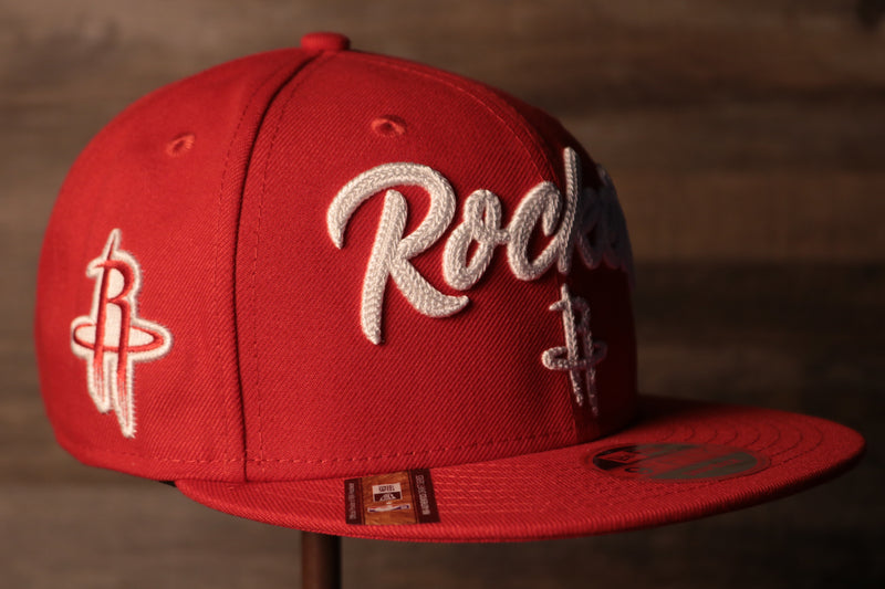 Rockets 2020 NBA Draft Snapback Hat | Houston Rockets NBA 2020 Draft Snap Hat this is the rockets 2020 draft hat