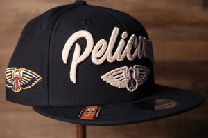Pelicans 2020 NBA Draft Snapback Hat | New Orleans Pelicans NBA 2020 Draft Snap Hat the pelicans logo is on the side