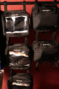 How to  organize hats and  camera  in closet camera  bag  | hat travel and storage bag | black box you can hang the blaclk box media in your closet by attaching it to the others buckle