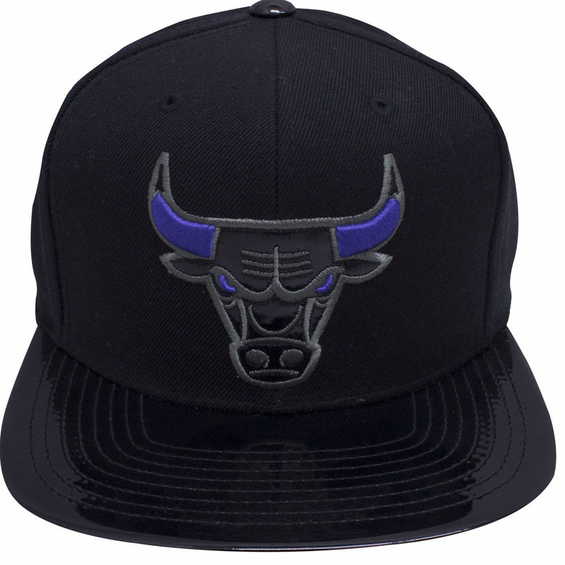 e06c67da on the front of the Chicago Bulls Air Jordan 11 Space Jam sneaker matching snapback  hat