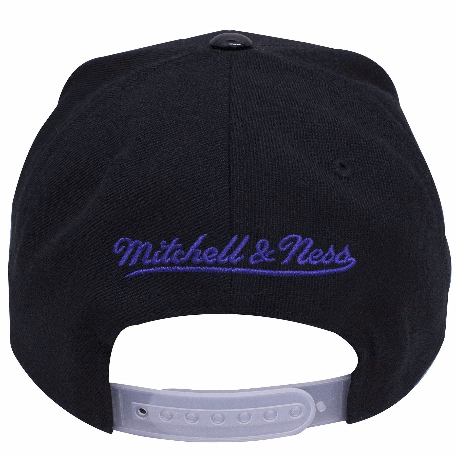 9ad74359c96 ... on the back of the Chicago Bulls Air Jordan 11 Space Jam sneaker  matching snapback hat ...