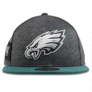 Philadelphia Eagles 2018 On Field Home Graphite Snapback Hat