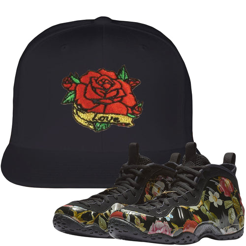 Wear this sneaker matching hat to match your Air Foamposite One Floral sneakers. Match your floral foams today!