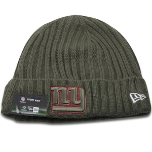 New York Giants 2017 Salute To Service On Filed Winter Knit Beanie