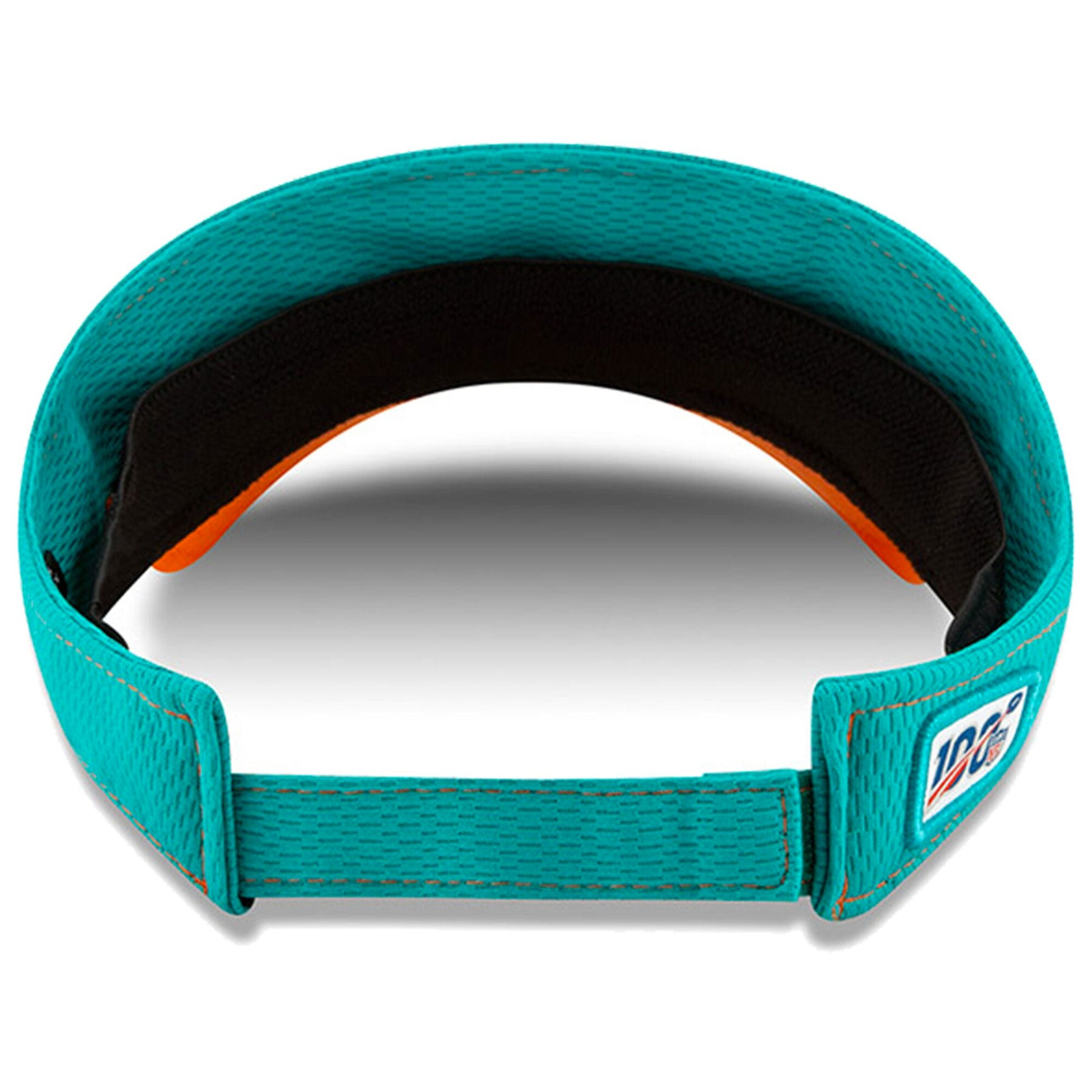 964bd74a Men's Miami Dolphins New Era Aqua 2019 NFL On Field Sideline Road Official  Teal Visor