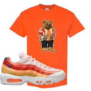 Air Max 95 Orange Snakeskin T Shirt | Sweater Bear, Orange