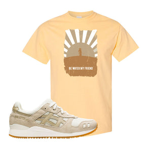 GEL-Lyte III 'Monozukuri Pack' T Shirt | Yellow Haze, Be Water My Friend Samurai