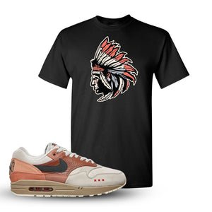 Air Max 1 Amsterdam City Pack Sneaker Black T Shirt | Tees to match Nike Air Max 1 Amsterdam City Pack Shoes | Indian Chief