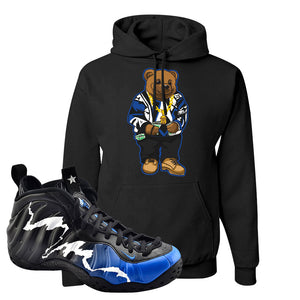 Air Foamposite One 1996 All-Star Game Hoodie | Sweater Bear, Black