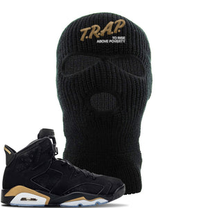 Jordan 6 DMP 2020 Ski Mask | Black, Trap To Rise Above Poverty