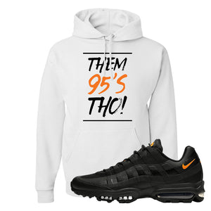 Air Max 95 Ultra Spooky Halloween Pullover Hoodie | Them 95's Tho, White
