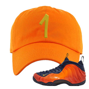 Foamposite One OKC Dad Hat | Orange, Penny One