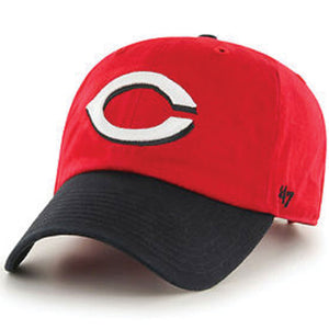 Cincinnati Reds Red/Black Two Tone Adjustable Baseball Cap