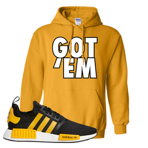 NMD R1 Active Gold Hoodie | Gold, Got Em