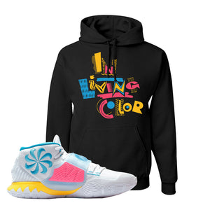 Kyrie 6 Blue Fury Hoodie | Black, In Living Color