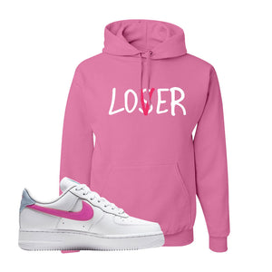 Air Force 1 Low Fire Pink Hoodie | Azalea, Lover