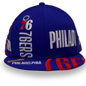 Philadelphia 76ers 2019 Series Tip Off Blue 9Fifty Snapback Hat
