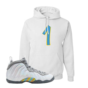 Lil Posite One Rainbow Pixel Hoodie | White, Penny One