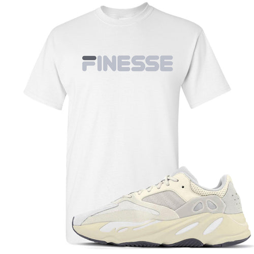 Yeezy Boost 700 Analog Sneaker Match Finesse White T-Shirt