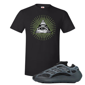 Yeezy 700 V3 Alvah T Shirt | Black, All Seeing Eye