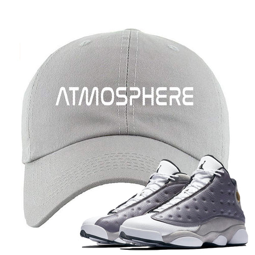 "Jordan 13 Atmosphere Grey ""Atmosphere"" Light Gray Dad Hat"