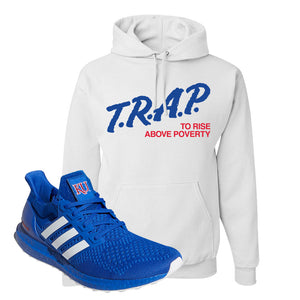 Ultra Boost 1.0 Kansas Hoodie | Trap To Rise Above Poverty, White
