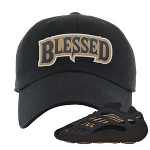 Yeezy 700 v3 Eremial Dad Hat | Blessed Arch, Black