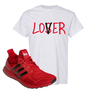 Ultra Boost 1.0 Nebraska T-Shirt | Lover, Ash