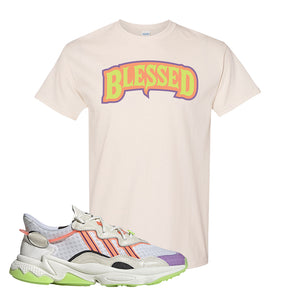 Ozweego Chaos T Shirt | Natural, Blessed Arch