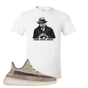 Yeezy 350 v2 Zyon T Shirt | White, Capone Illustration