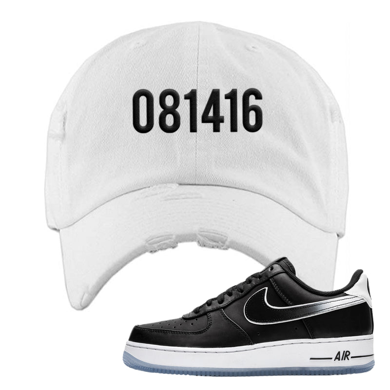 Colin Kaepernick X Air Force 1 Low Distressed Dad Hat | White, 081416