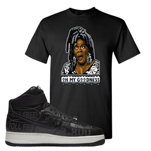 Air Force 1 High Hotline T Shirt | Oh My Goodness, Black