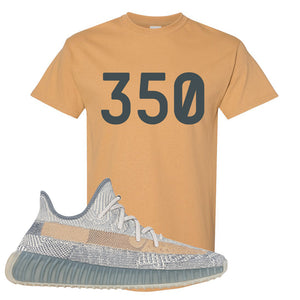 Yeezy Boost 350 V2 Israfil T Shirt | Old Gold, 350