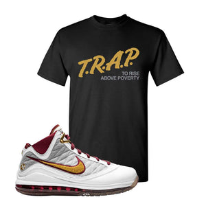 LeBron 7 MVP T Shirt | Black, Trap To Rise Above Poverty