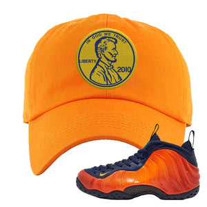 Foamposite One OKC Dad Hat | Orange, Penny