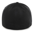 the golden nights stretch fit cap is solid black and fits all sizes