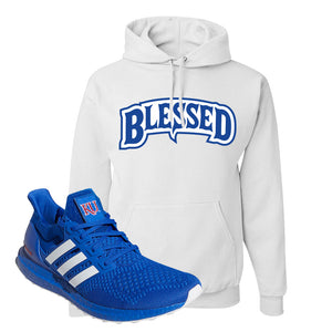 Ultra Boost 1.0 Kansas Hoodie | Blessed Arch, White