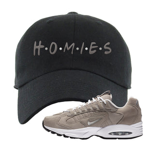 Air Max Triax 96 Grey Suede Dad Hat | Homies, Black