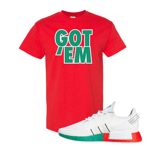 NMD R1 V2 Ciudad De Mexico T Shirt | Red, Got Em