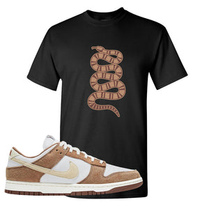 Dunk Low Medium Curry T Shirt | Coiled Snake, Black