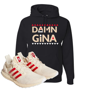 Adidas Ultra Boost 1.0 Indiana Pullover Hoodie | Damn Gina, Black