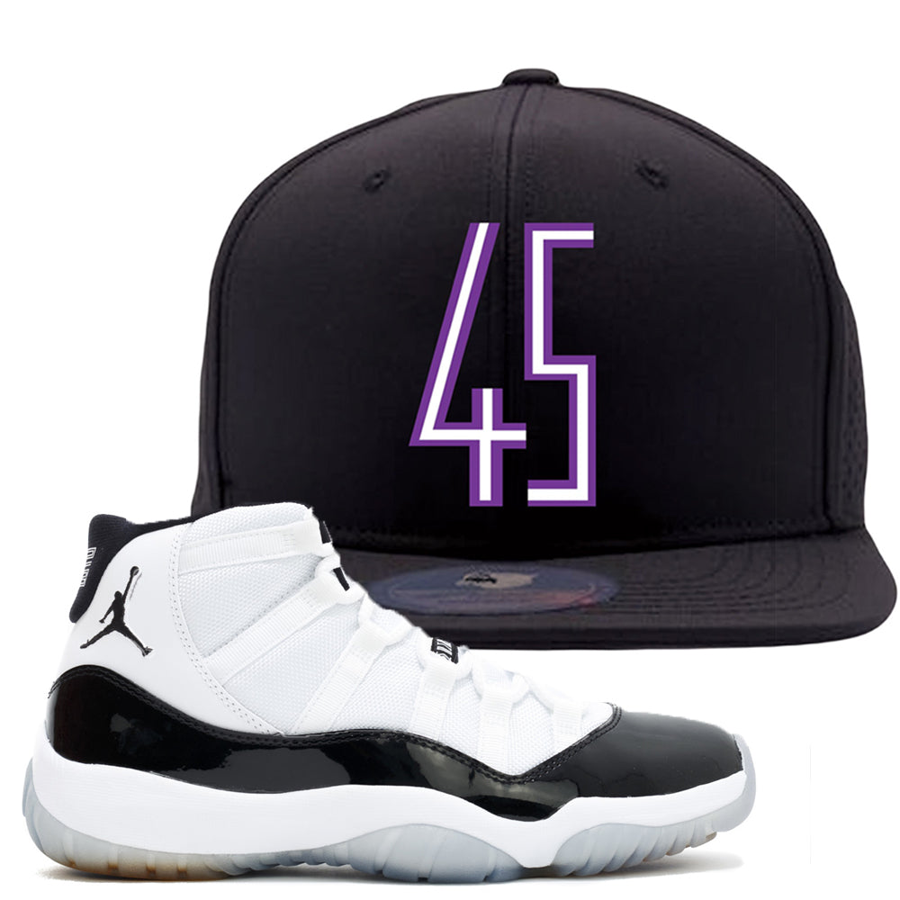7deef7b9244 Match your pair of Jordan 11 Concord 45 sneakers with this Concord 11  sneaker matching dad