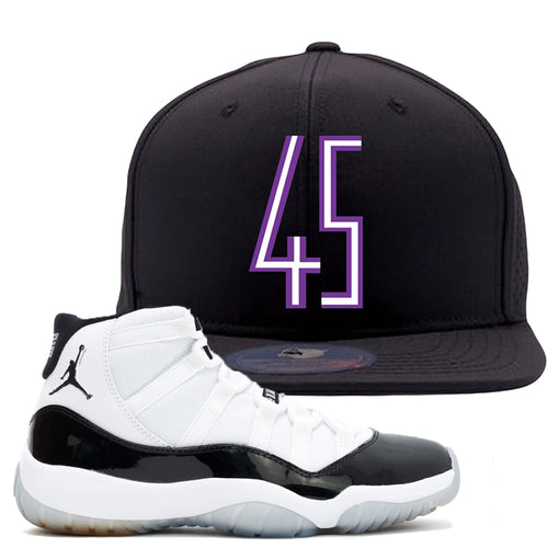 4ce52bd65c0ff1 Match your pair of Jordan 11 Concord 45 sneakers with this Concord 11  sneaker matching dad