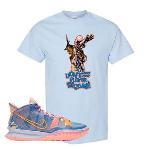 Kyrie 7 Expressions T-Shirt | Dont Hate The Playa, Light Blue