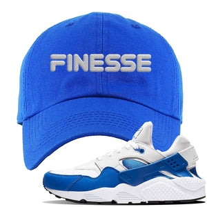 Huarache DNA Series Dad Hat | Royal, Finesse