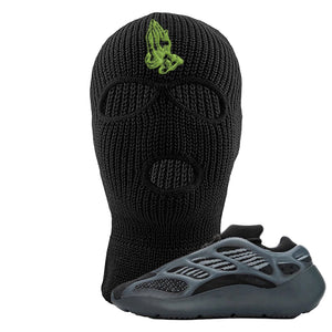 Yeezy 700 v3 Alvah Ski Mask | Black, Praying Hands