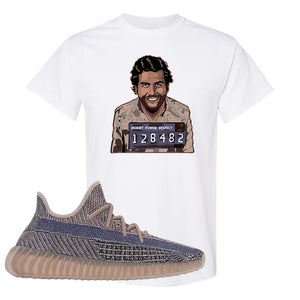 Yeezy Boost 350 V2 Fade T-Shirt | Escobar Illustration, White