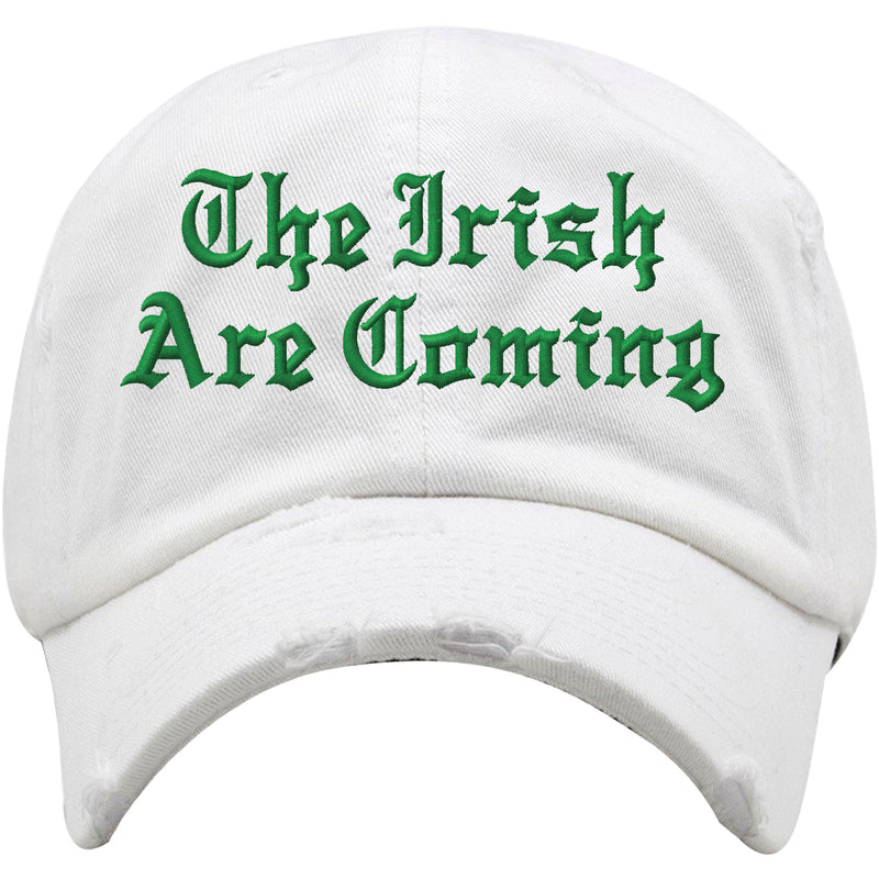 Show your Irish Pride for St.Patrick's Day with this must-have St. Patrick's Day distressed dad hat