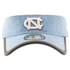 Embroidered on the front of the UNC visor is the UNV logo in white