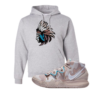 Nike Kybrid S2 What The Inline Pullover Hoodie | Indian Chief, Ash